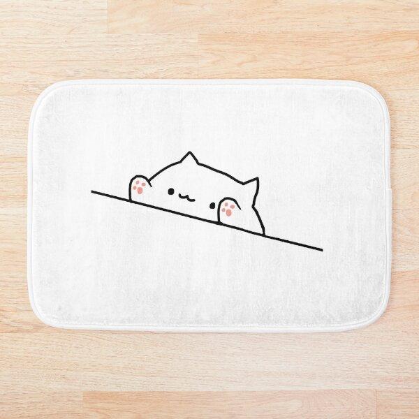 Bongo Cat Bath Mat