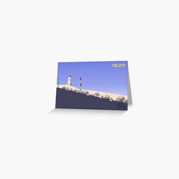#PolyPeloton : Postcards - Ventoux Greeting Card