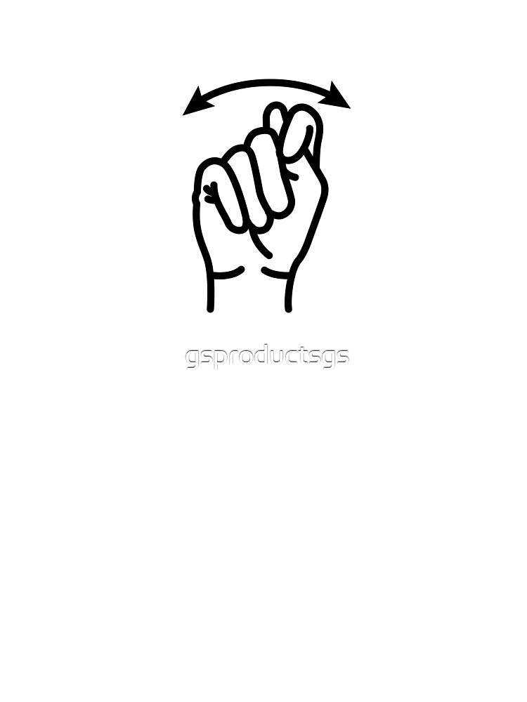 Asl Sign For Potty Bathroom Gotta Go Kids T Shirt By Gsproductsgs Redbubble