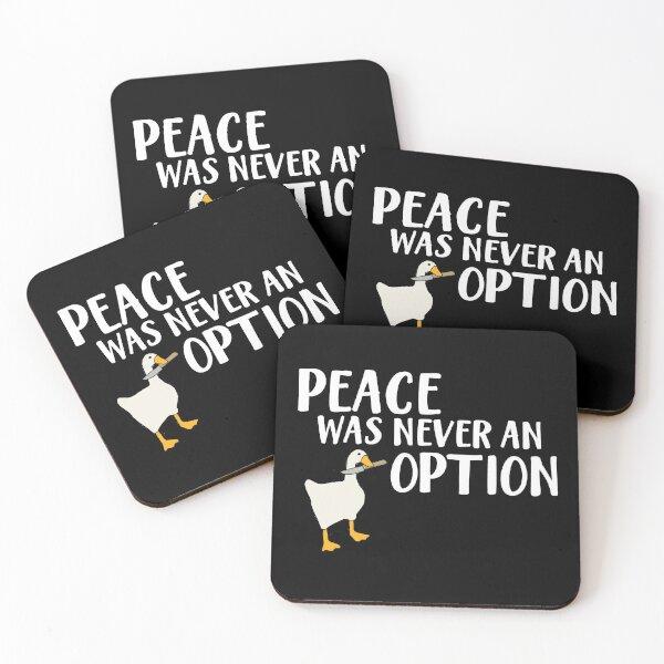 Goose Game  Wording Coasters (Set of 4)