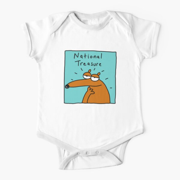 National Treasure Short Sleeve Baby One-Piece