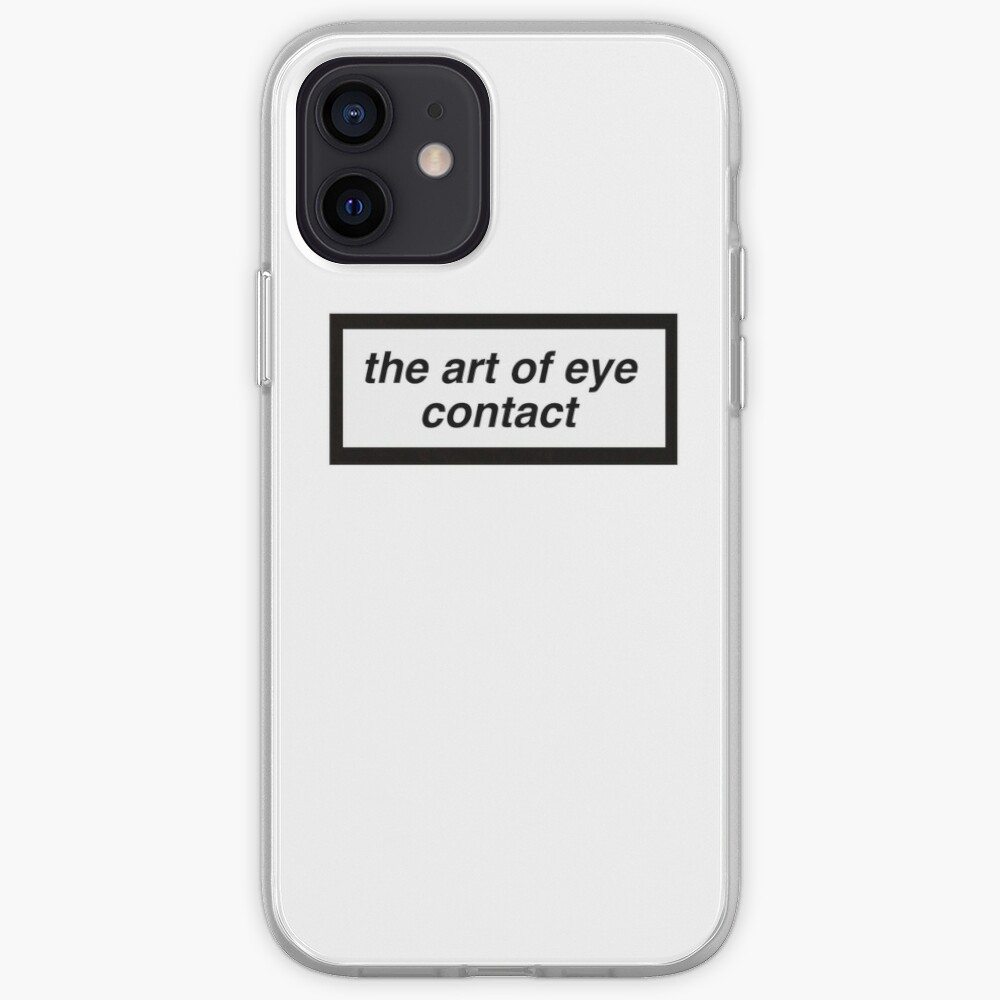 the art of eye contact iPhone Case & Cover