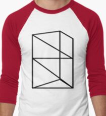 Trapped Men's Baseball ¾ T-Shirt
