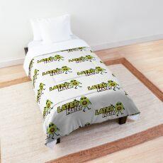 Later Hater Avocado Emoji JoyPixels Cool Avocado saying Comforter