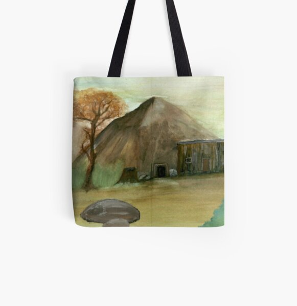 The Lonely Shack All Over Print Tote Bag