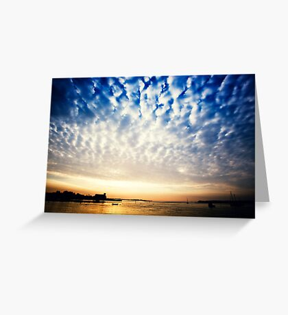Sungarvan Over The Harbour Greeting Card