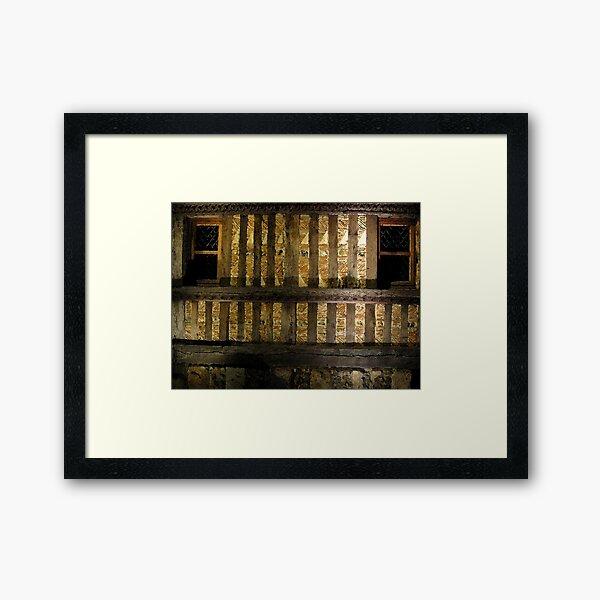 Orbecacqua  B Framed Art Print