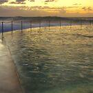 Autumn Swim - Bronte Baths by Mark  Lucey