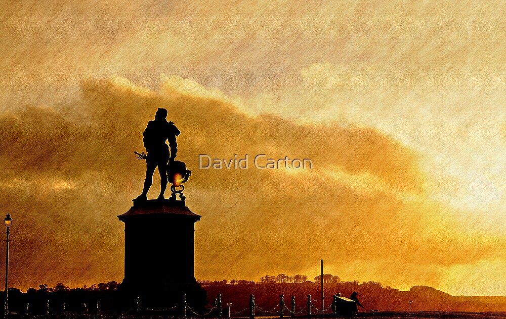 Early morning, Plymouth Hoe by David Carton