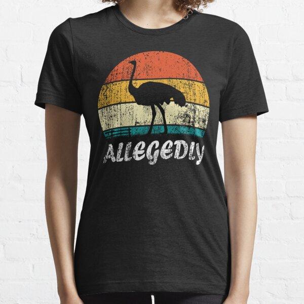 Rétro Vintage prétendument autruche T-shirt essentiel