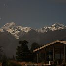 Mount Cook by night by EblePhilippe
