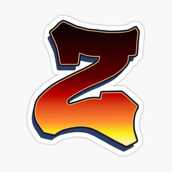 Z - Flame Sticker