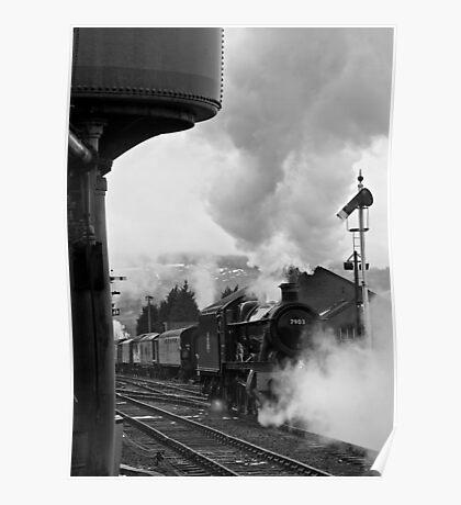 Gloucestershire Warwickshire Railway Poster