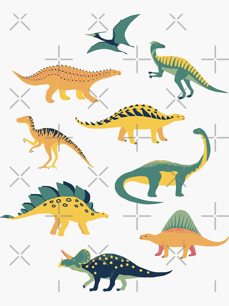 Land of Dinosaurs by nadyanadya