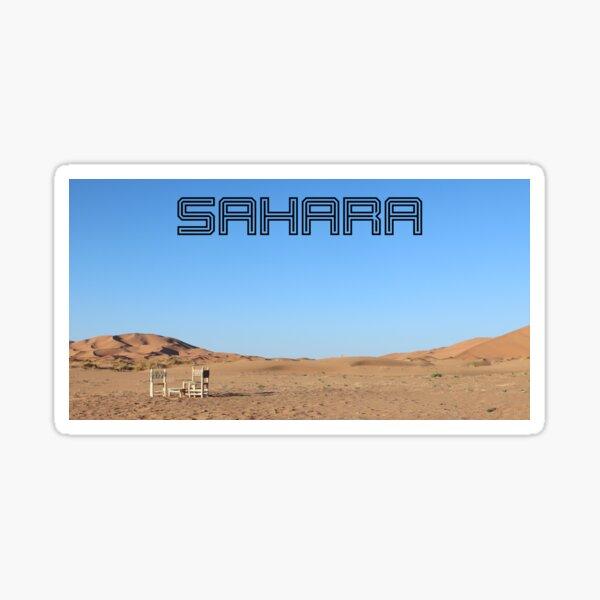 sticker sahara  redbubble