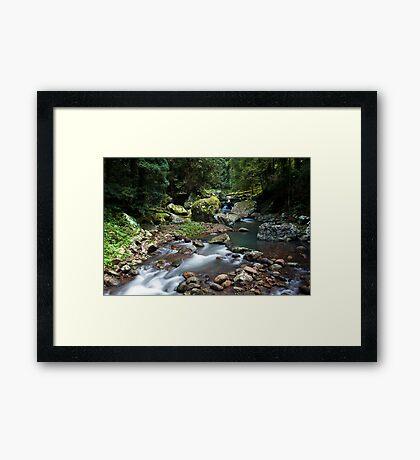 Caves Creek Framed Print