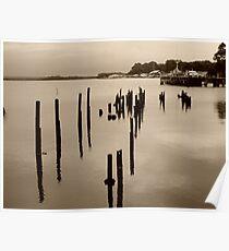 Risby Cove -Tasmania      sepia Poster