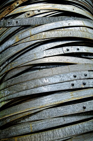 Barrel hoops. by Victor Pugatschew