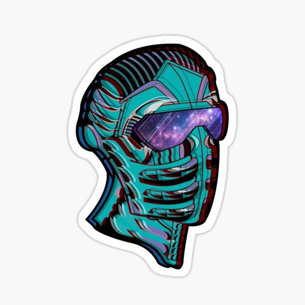 'Interstelevator' Artwork Sticker Sticker