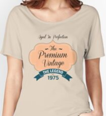 The Premium Vintage 1975 Women's Relaxed Fit T-Shirt