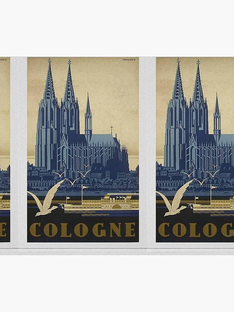 Vintage Cologne Travel Poster by edsimoneit