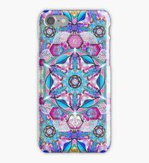 Om-Adjna 'dubstep' mandala iPhone Case/Skin