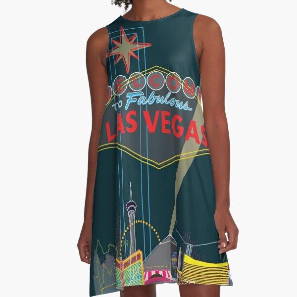 Las Vegas A-Line Dress