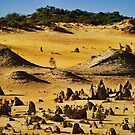 """Pyramids In Nambung"" by Heather Thorning"