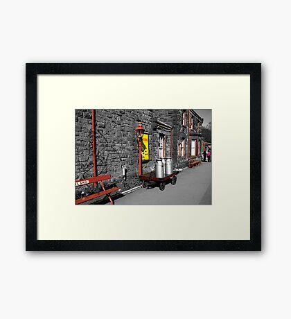 Goathland Station Platform  (SC) Framed Print