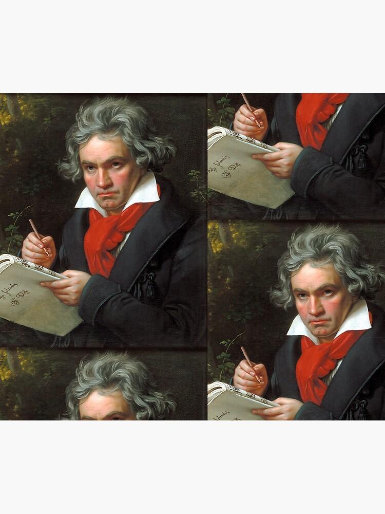 Beethoven Portrait, 1819 by edsimoneit