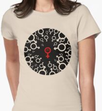 Female power Womens Fitted T-Shirt