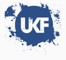 UKF Dubstep Logo w/ Paint Splats