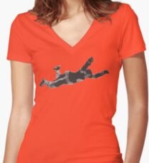 The Goal Women's Fitted V-Neck T-Shirt