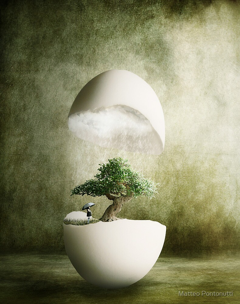 Hatching Thoughts by Matteo Pontonutti
