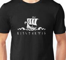 Viking ship - Ride the storm  Unisex T-Shirt