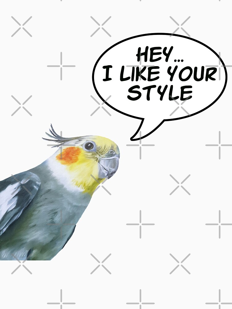 Cockatiel Style - bird quote by EmilyBickell