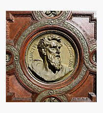saint jacob Bas-relief Photographic Print  sc 1 st  Redbubble & Bas Relief: Wall Art | Redbubble