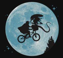 E.T. vs Aliens