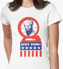 Got Him! Womens Fitted T-Shirt