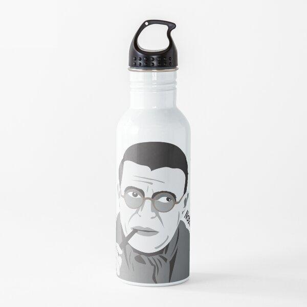 Jean-Paul Sartre - Filosofía Botella de agua