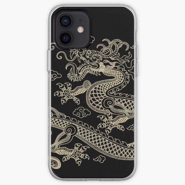 Gold Dragon iPhone Soft Case