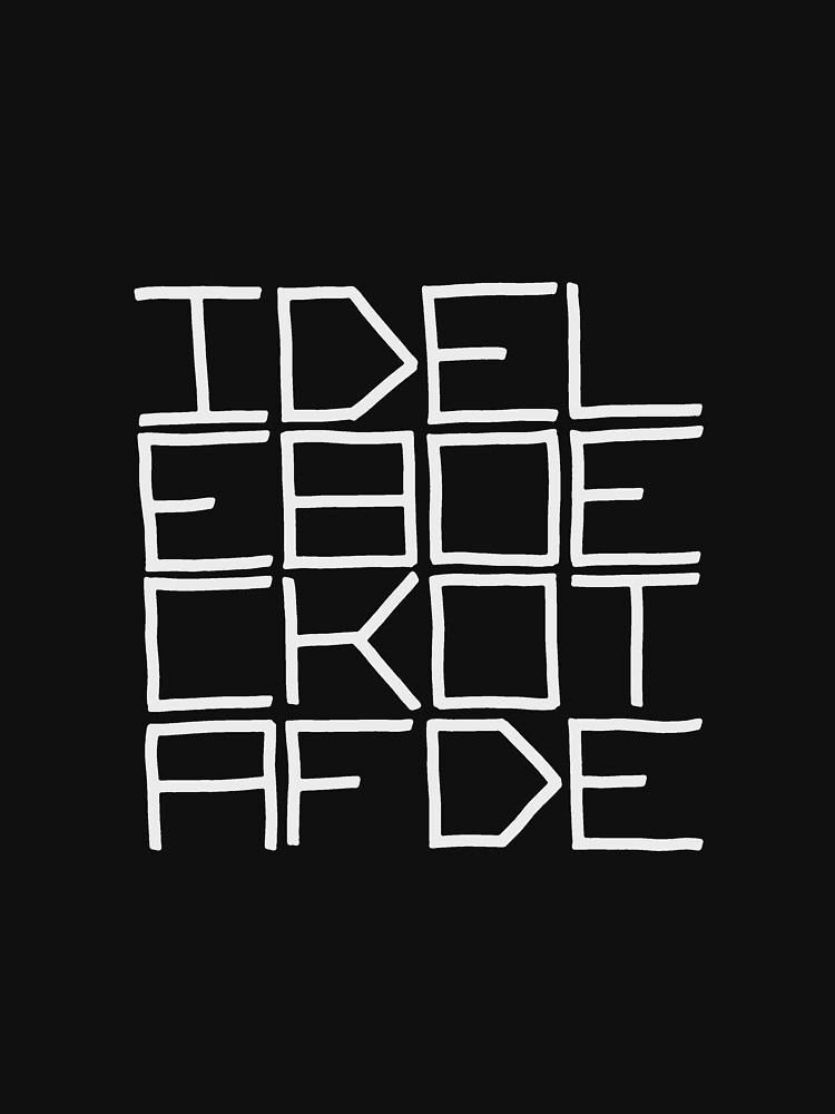 IDEL... (WHITE TEXT) by revaddotcom