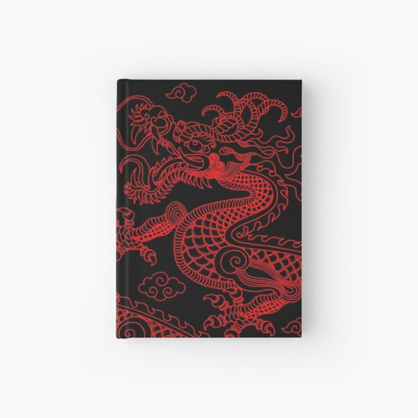Red Dragon Hardcover Journal