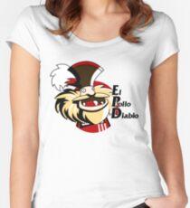 El pollo diablo Women's Fitted Scoop T-Shirt