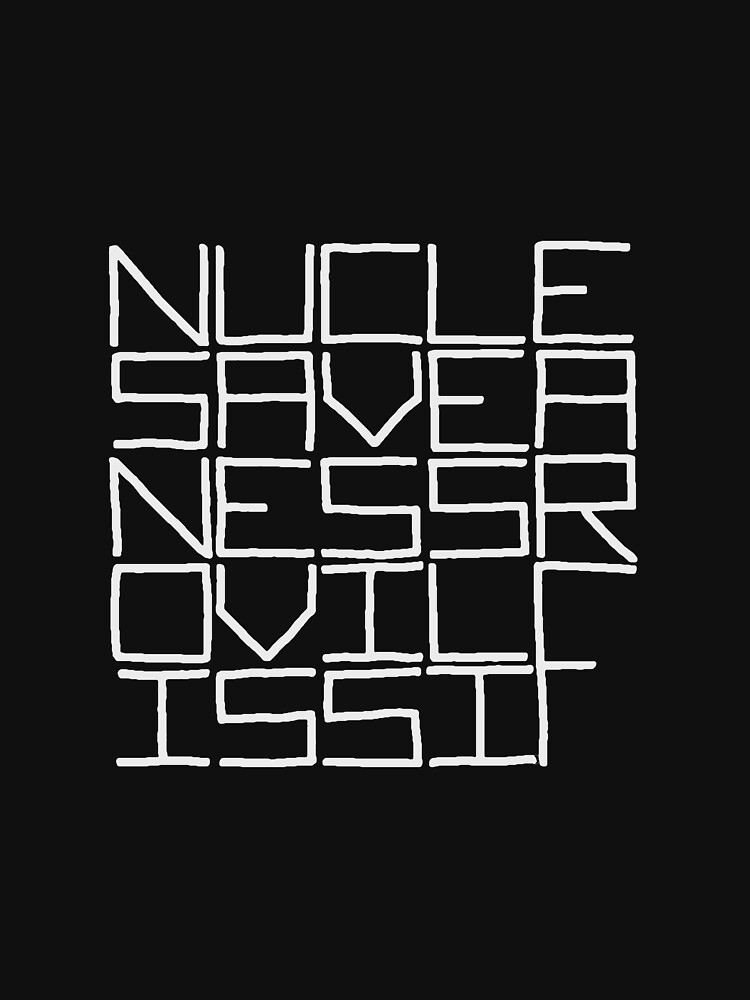 NUCLE... (WHITE TEXT) by revaddotcom