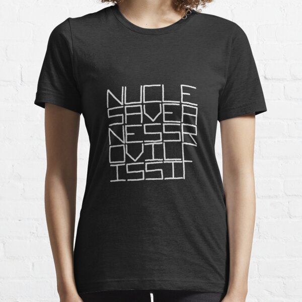 NUCLE... (WHITE TEXT) Essential T-Shirt