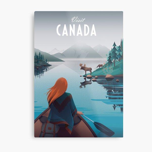 Visit Canada Metal Print