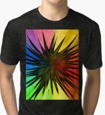 """Rainbow Splat"" Clothing Tri-blend T-Shirt"