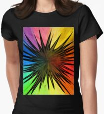 """Rainbow Splat"" Clothing Women's Fitted T-Shirt"