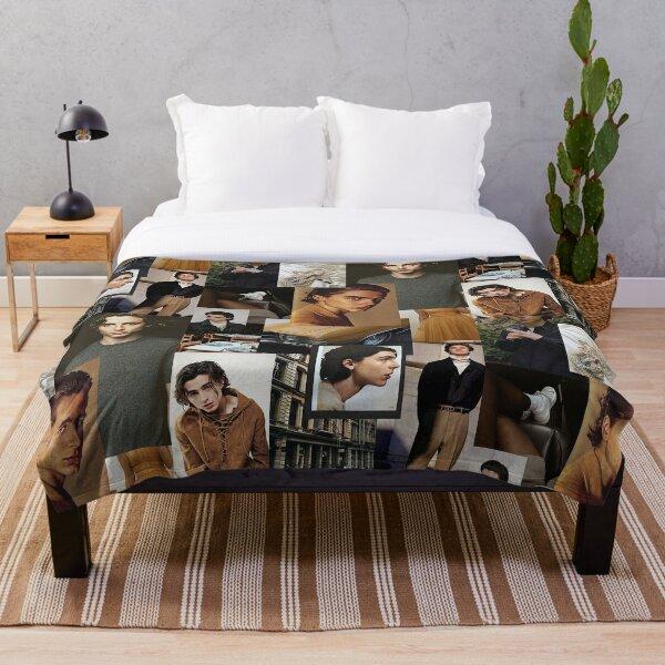 Timothee Chalamet: Collage Throw Blanket
